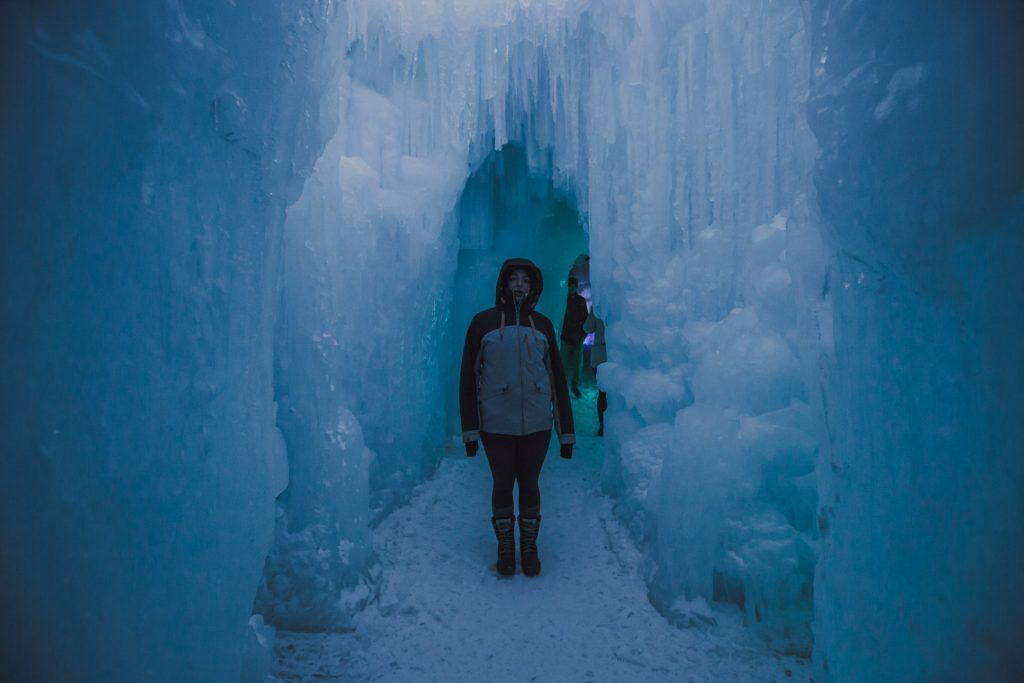 Ice Castles in Dillon Colorado