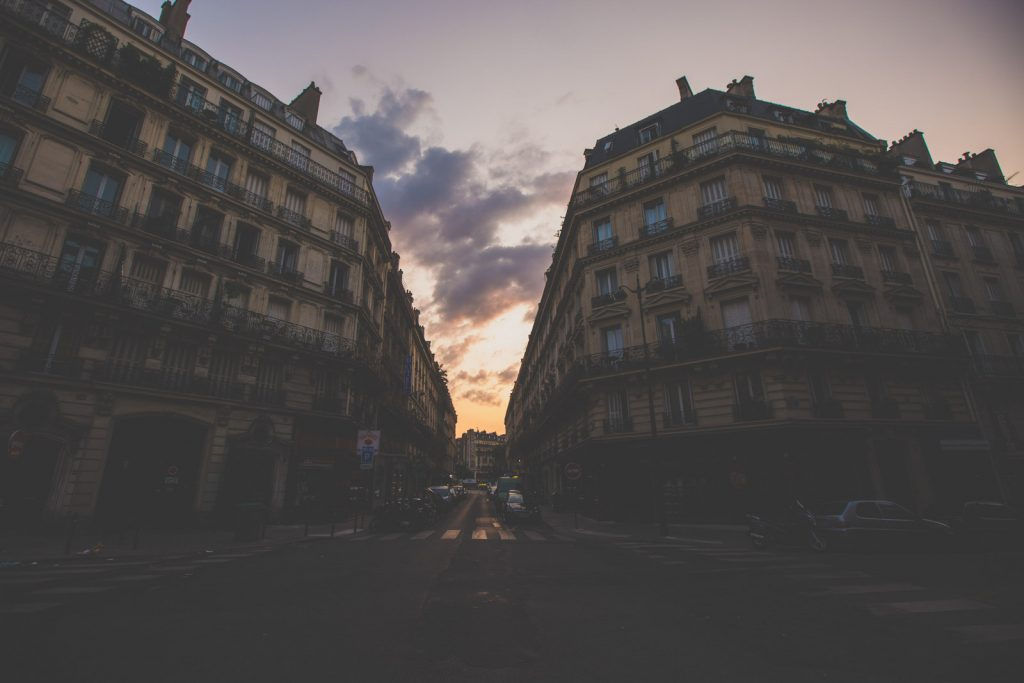 Sunrise in Paris Travel Photo