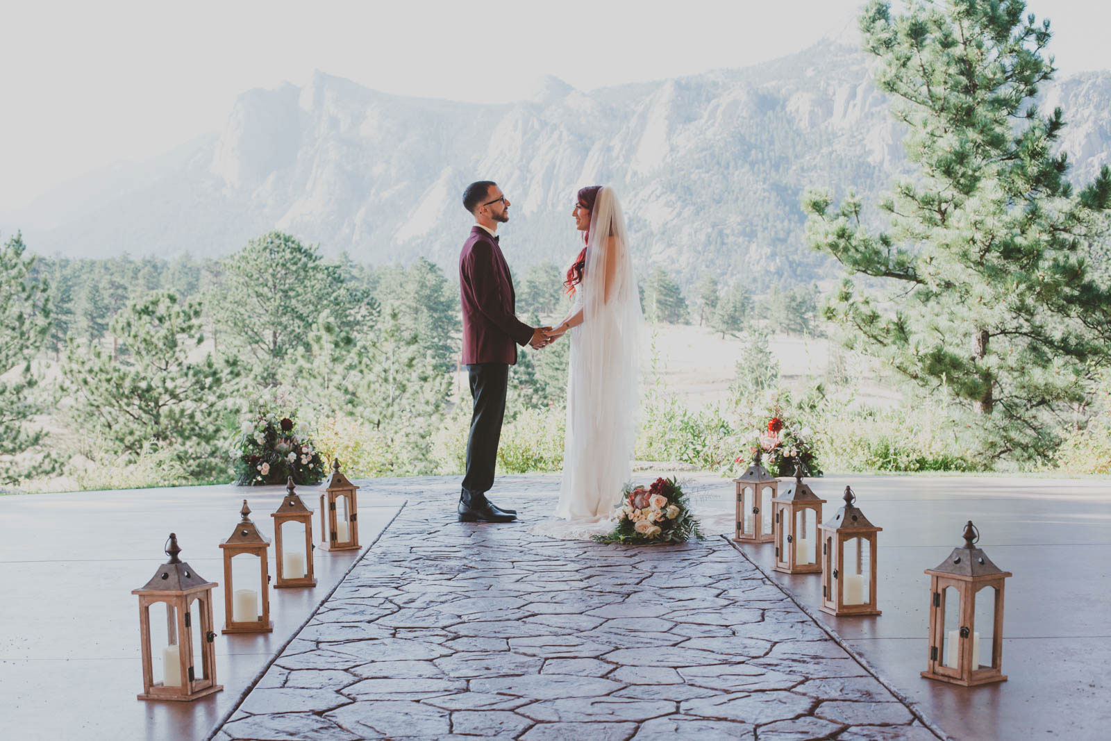 Shannon and Max's Intimate Rocky Mountain Wedding