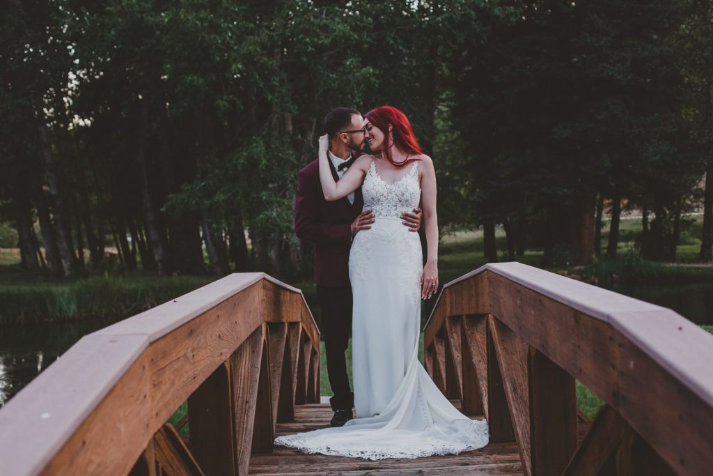 Gorgeous Wedding Elopement Photo in Rocky Mountain National Park