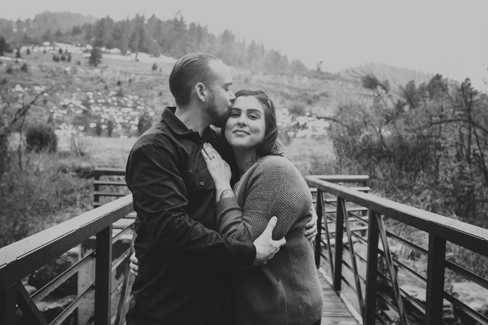 Couple Fall session at Lair O the Bear Park , Colorado