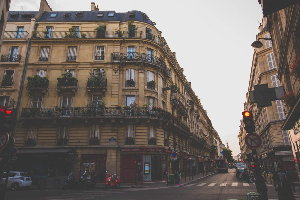 Travel Photo in The Streets of Paris
